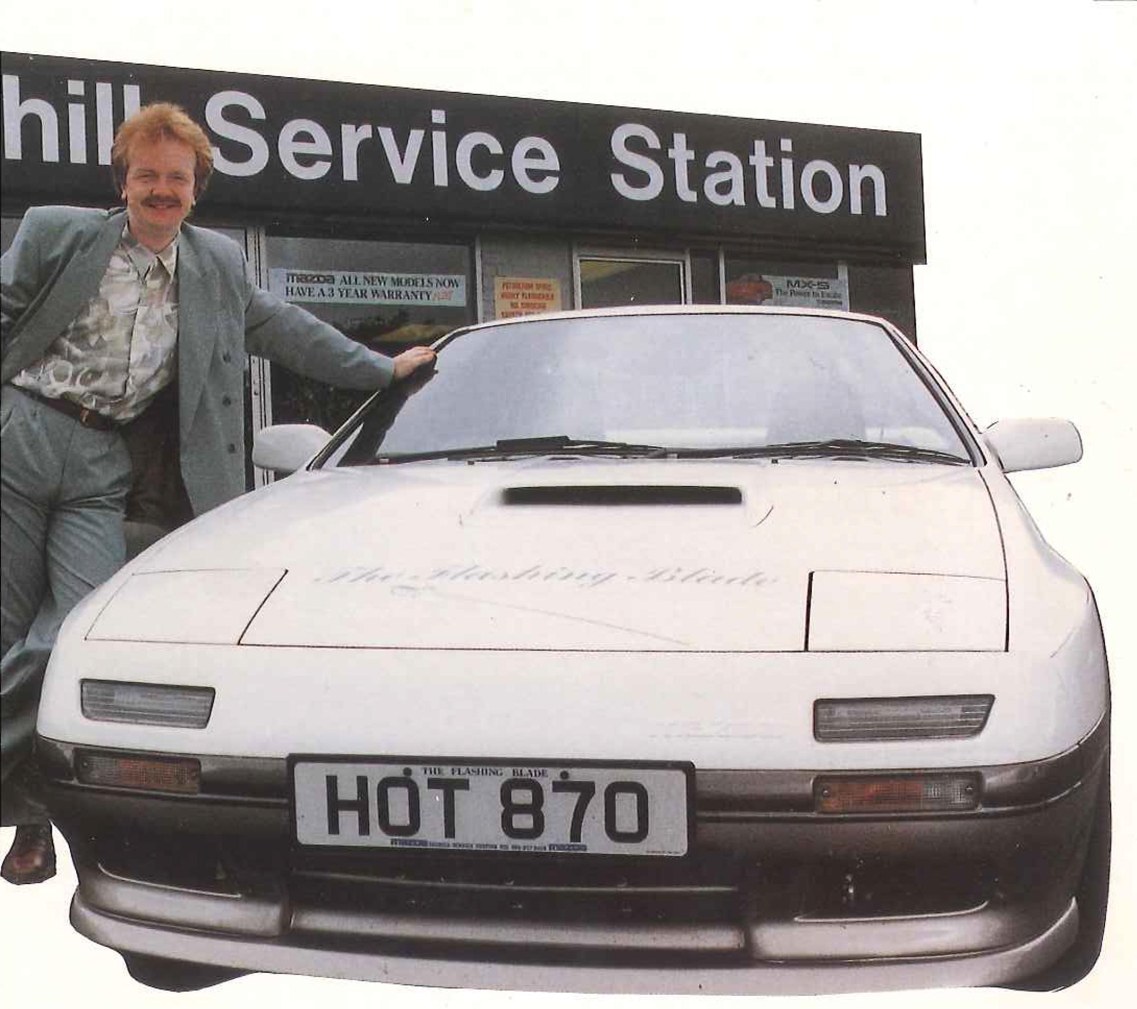 New Sponsors Car