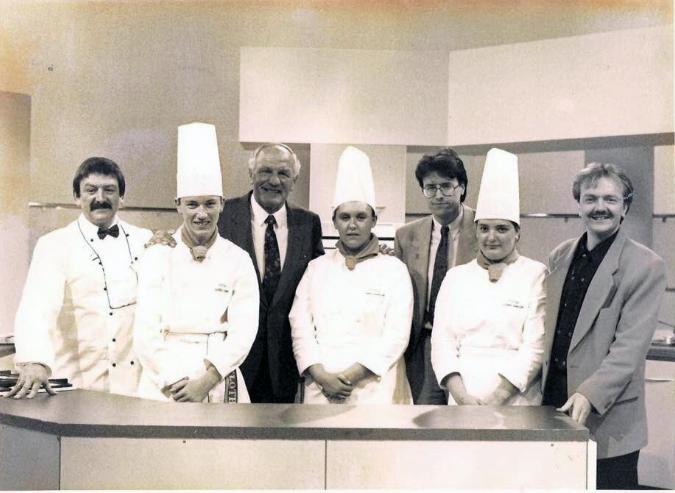 Alan Presents College Cuisine for Tyne Tees TV