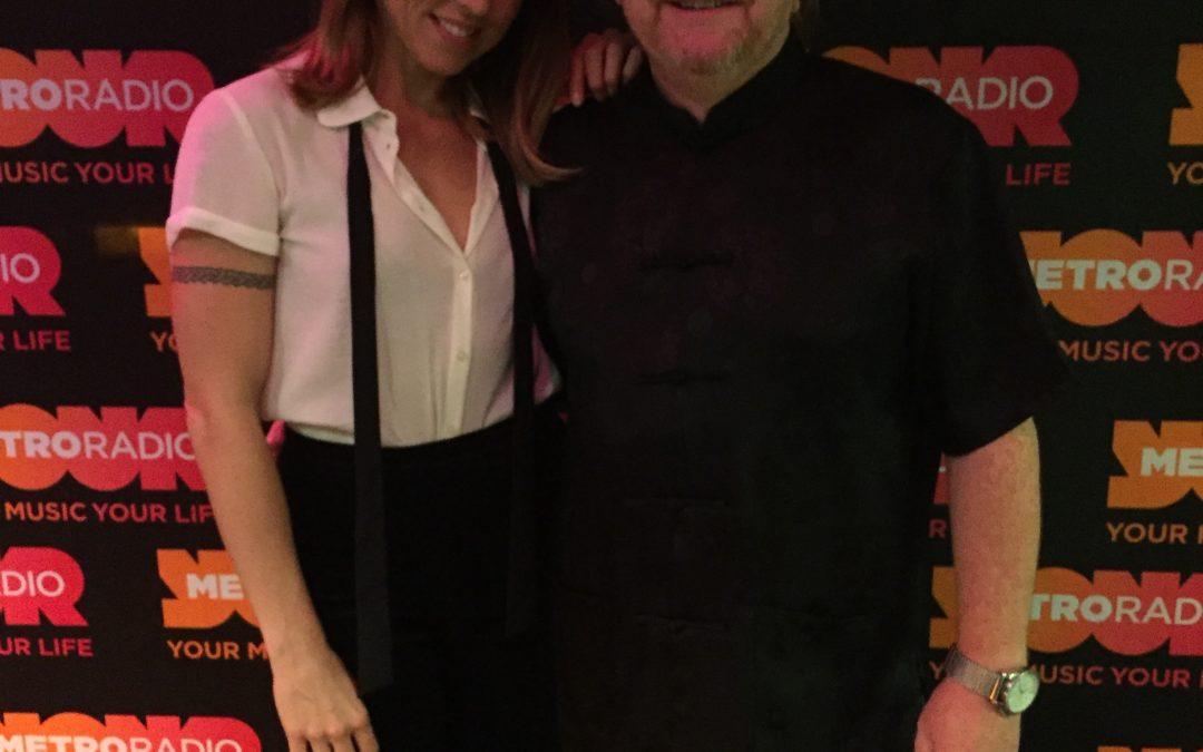 Alan Meets Spice Girl Mel C