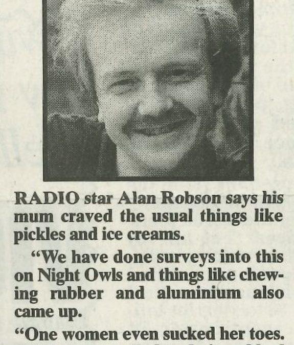 *Article* Alan On Cravings