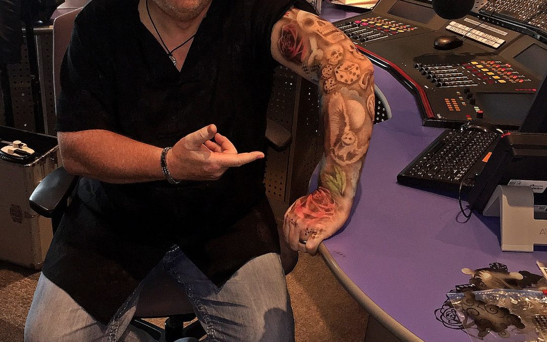 Alan Gets Inked