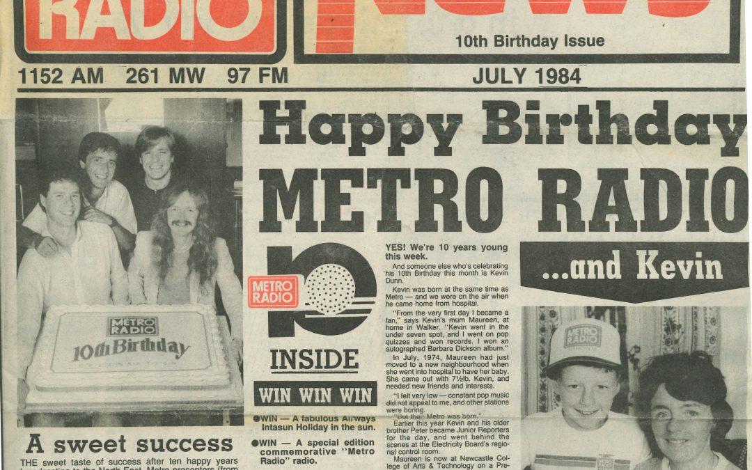 *Article* Happy Birthday Metro Radio*