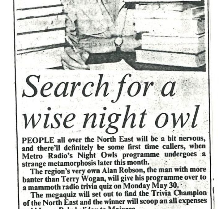 *Article* Search For A Wise Night Owl