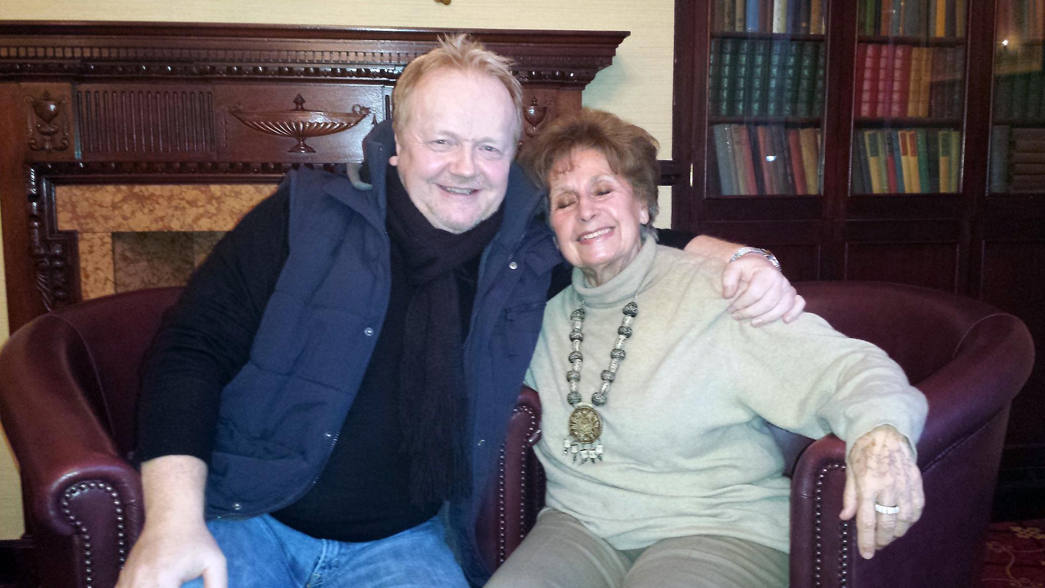 Alan Meets Auschwitz Survivor Zdenka Fantlova