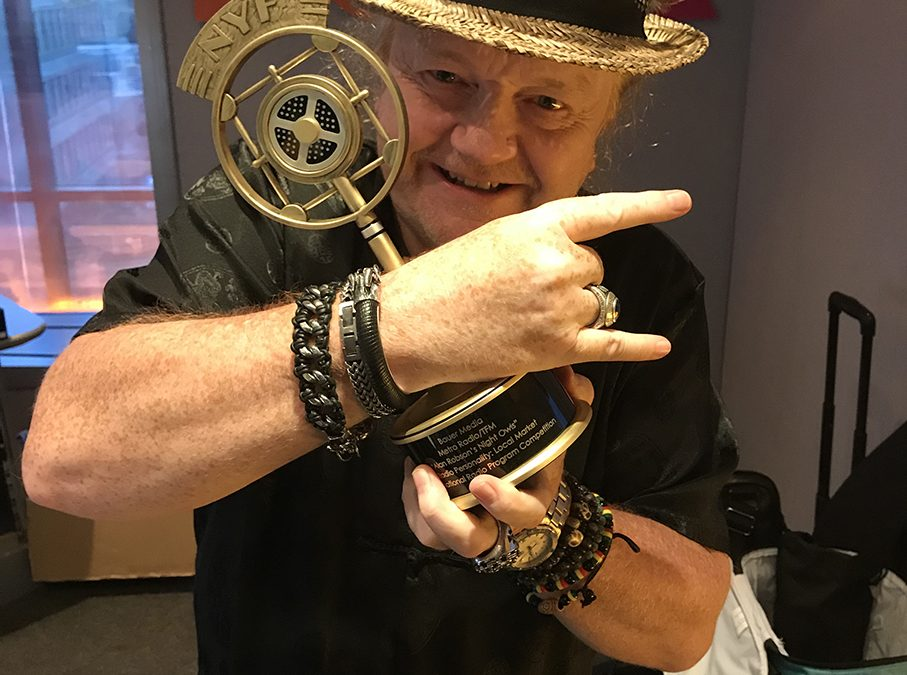 Alan Wins Gold At The New York Radio Awards!