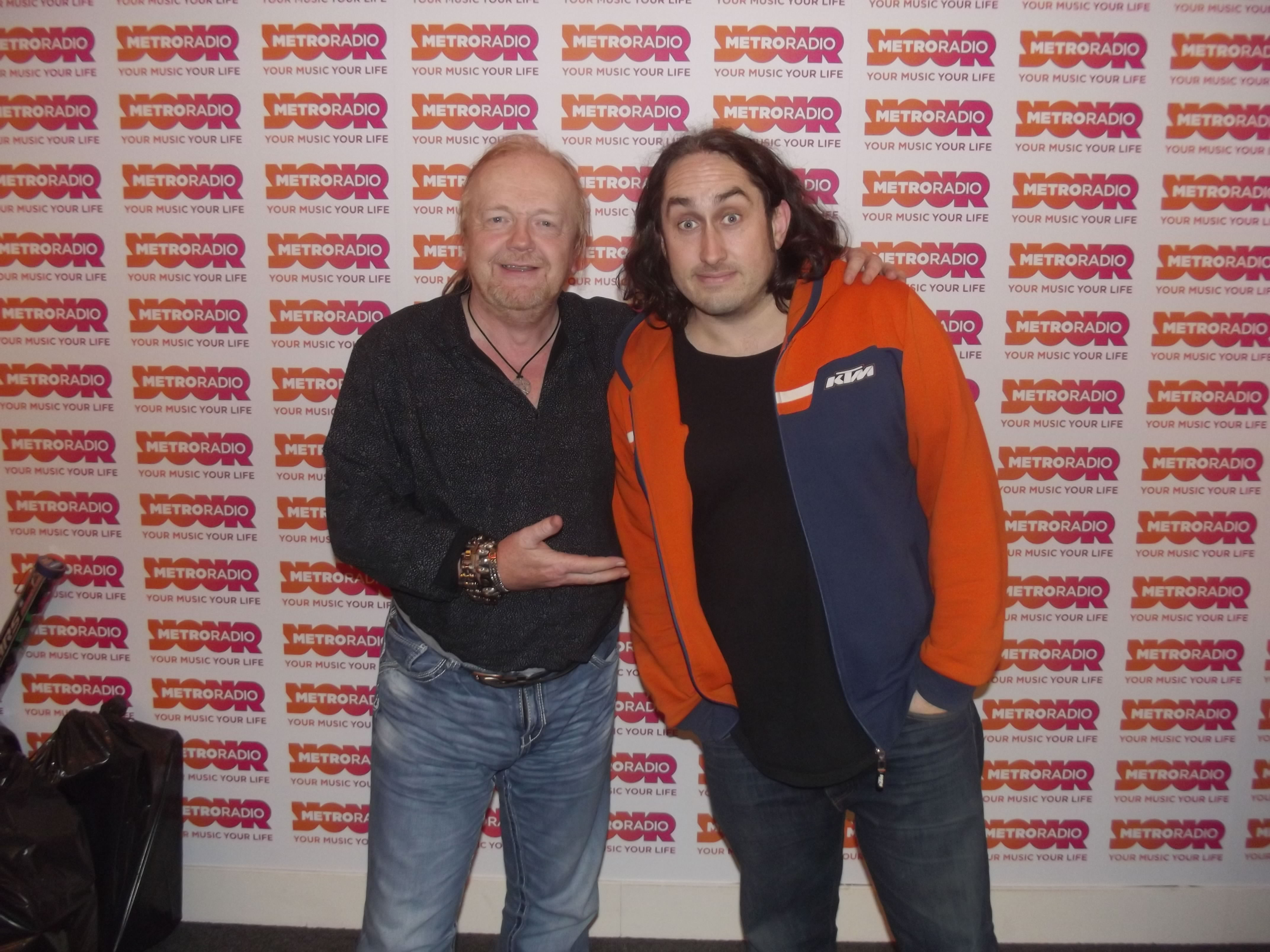 Ross Noble Joins Alan In The Studio