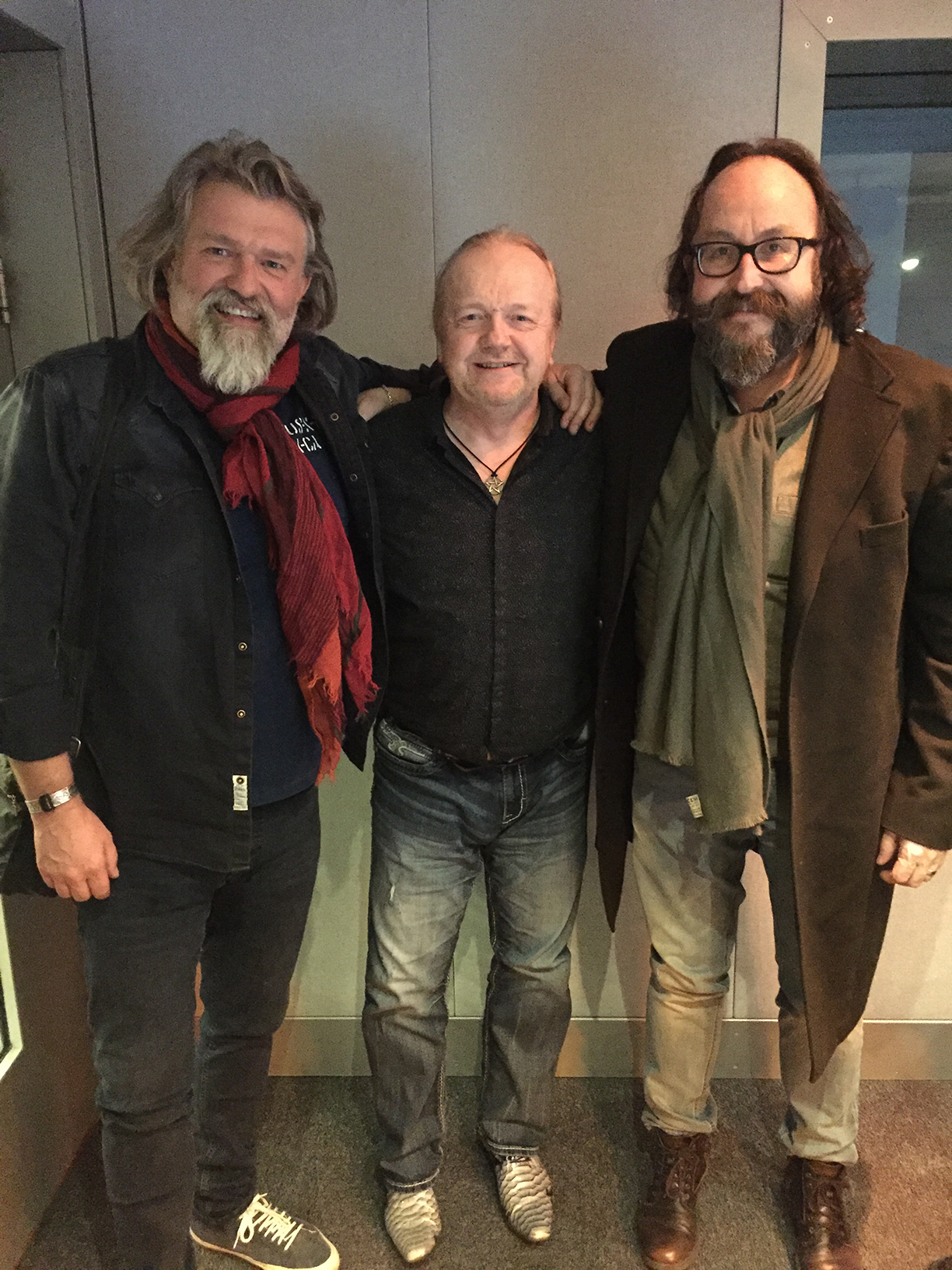 In The Studio With The Hairy Bikers