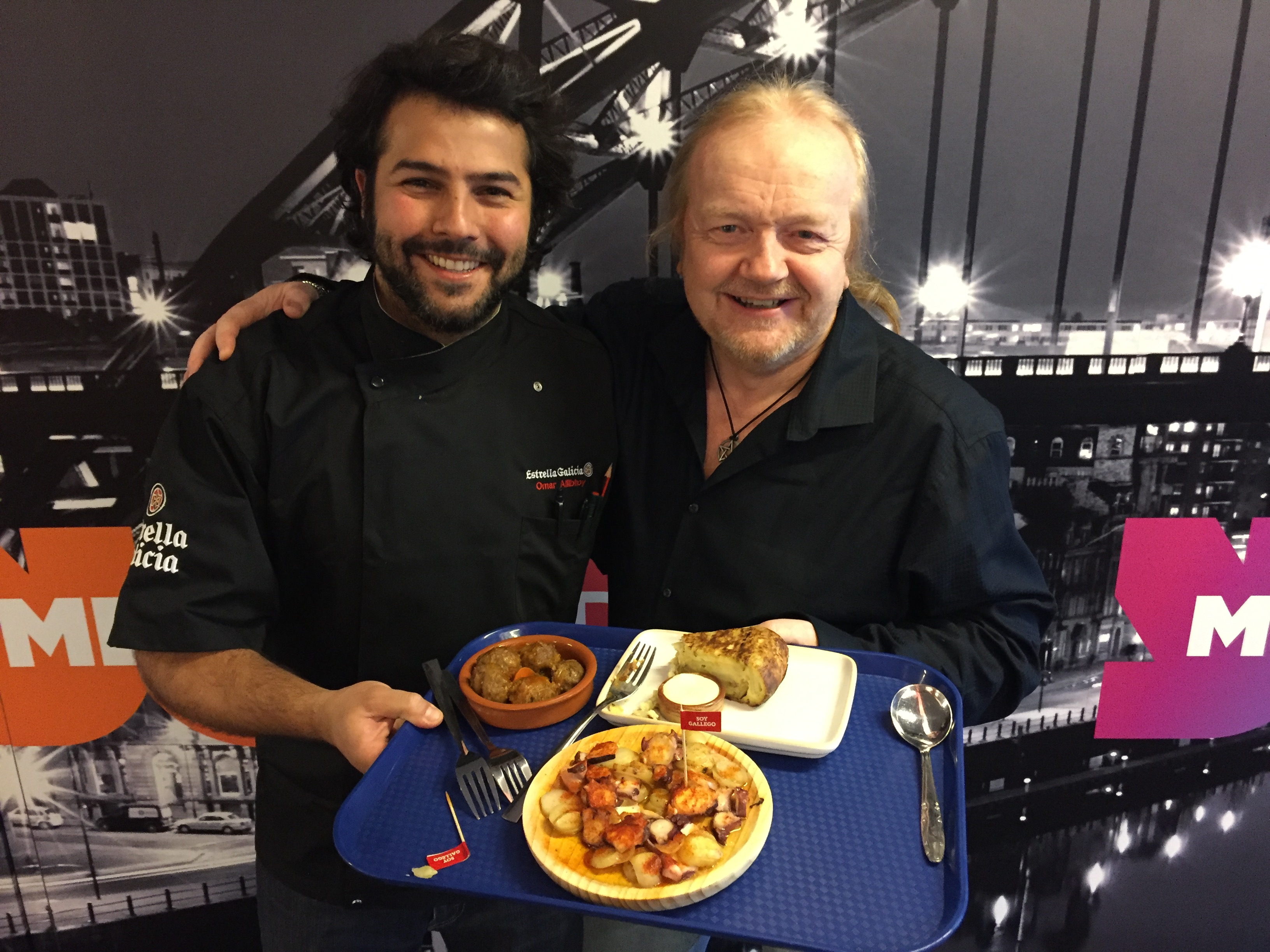 Alan Tries Spanish Tapas With A Masterchef!