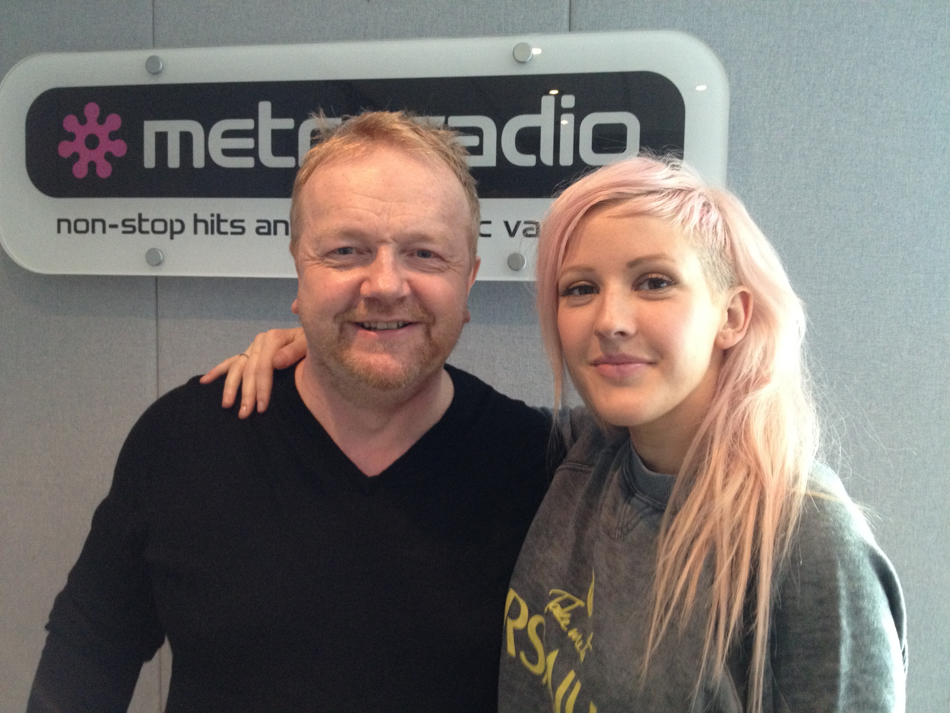Alan Meets Ellie Goulding
