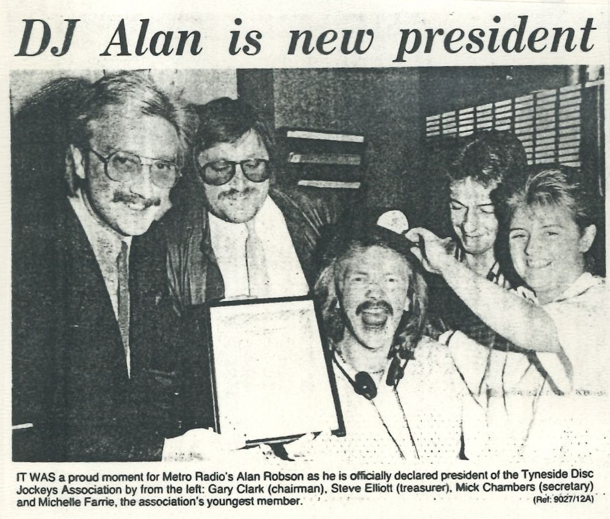 *Article* Alan Is President!