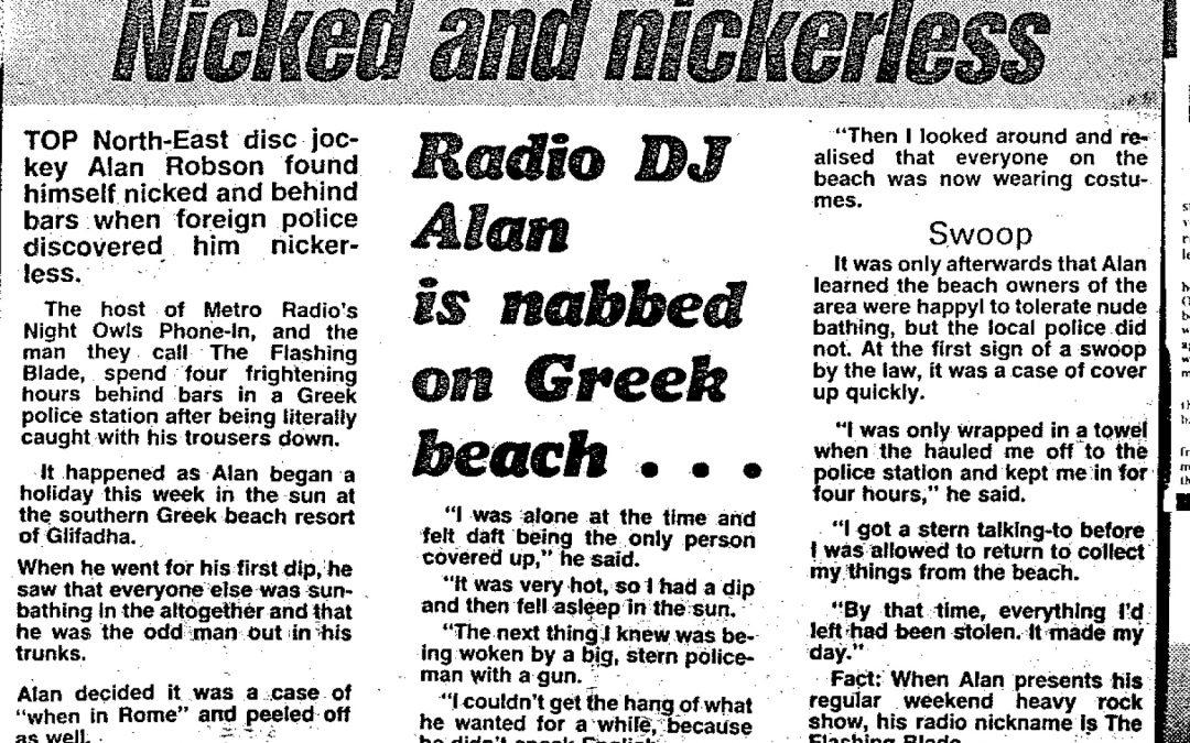 *Article* Alan The Flashing Blade