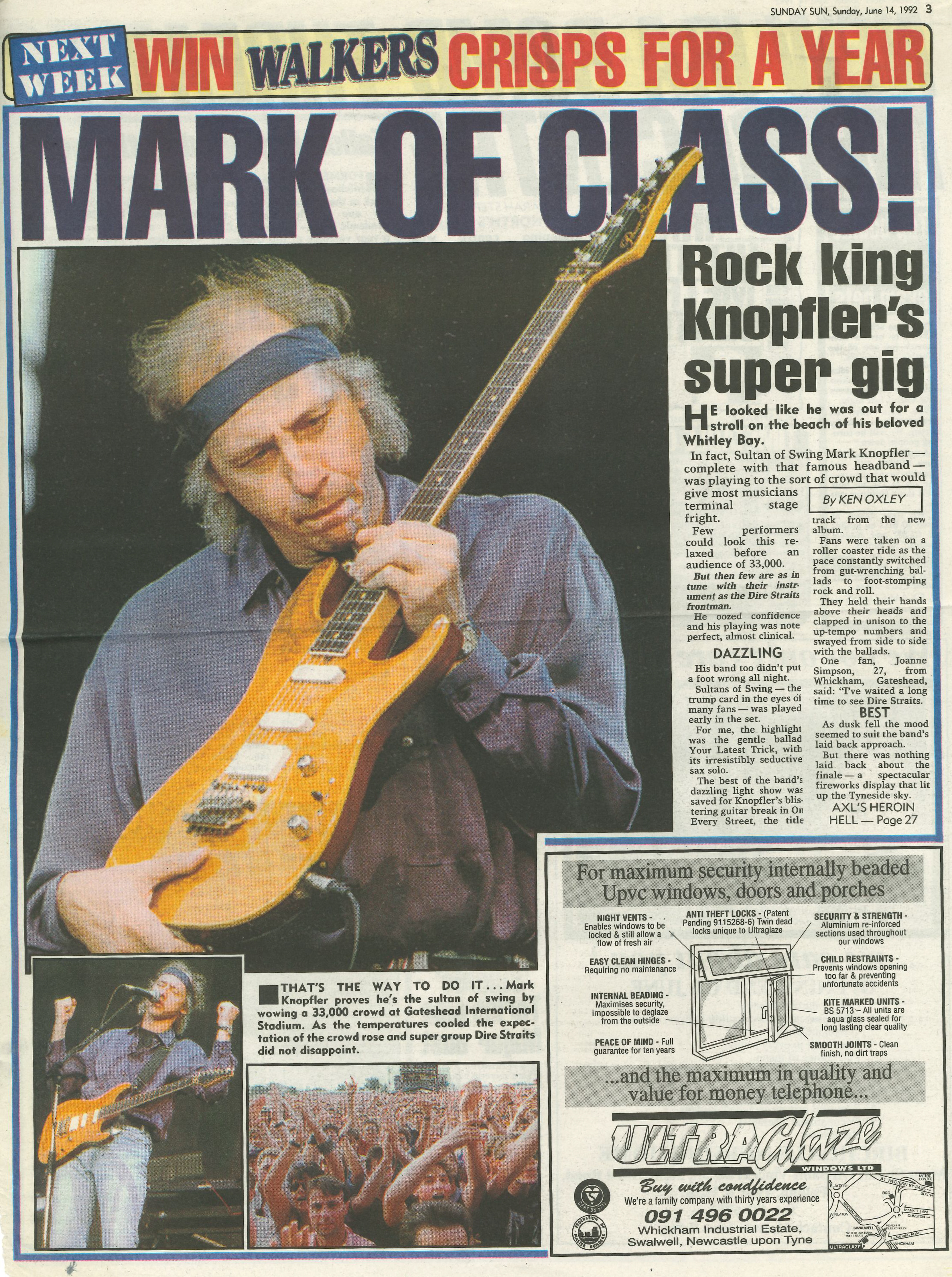 *Article* Dire Straits Review