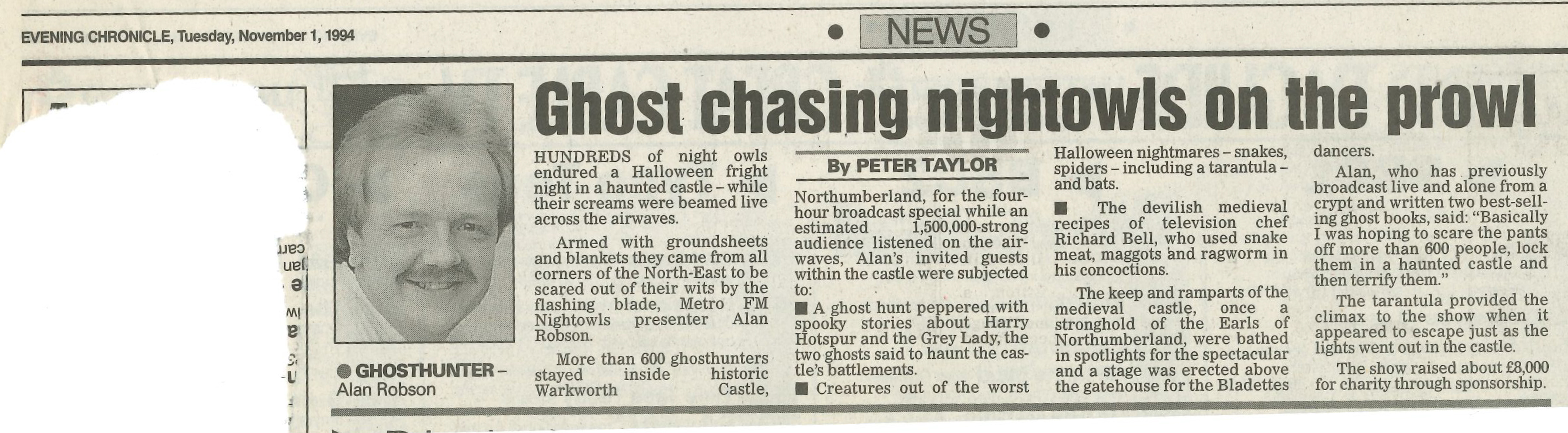 *Article* Ghost Chasing Night Owl