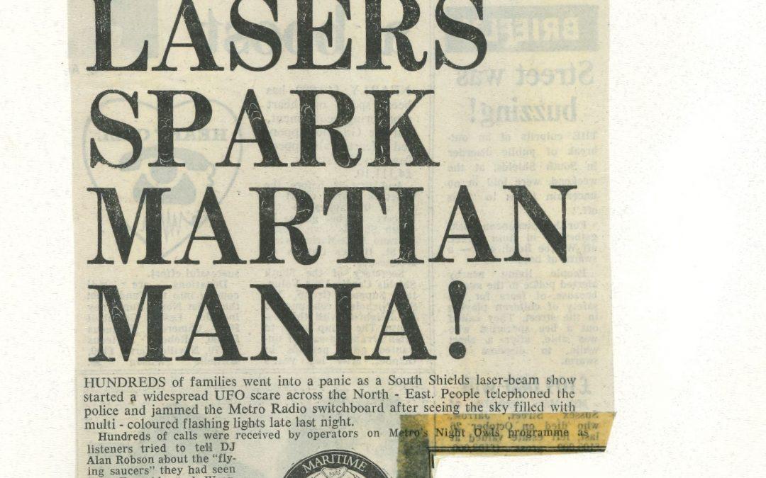 *Article* Martian Mania!