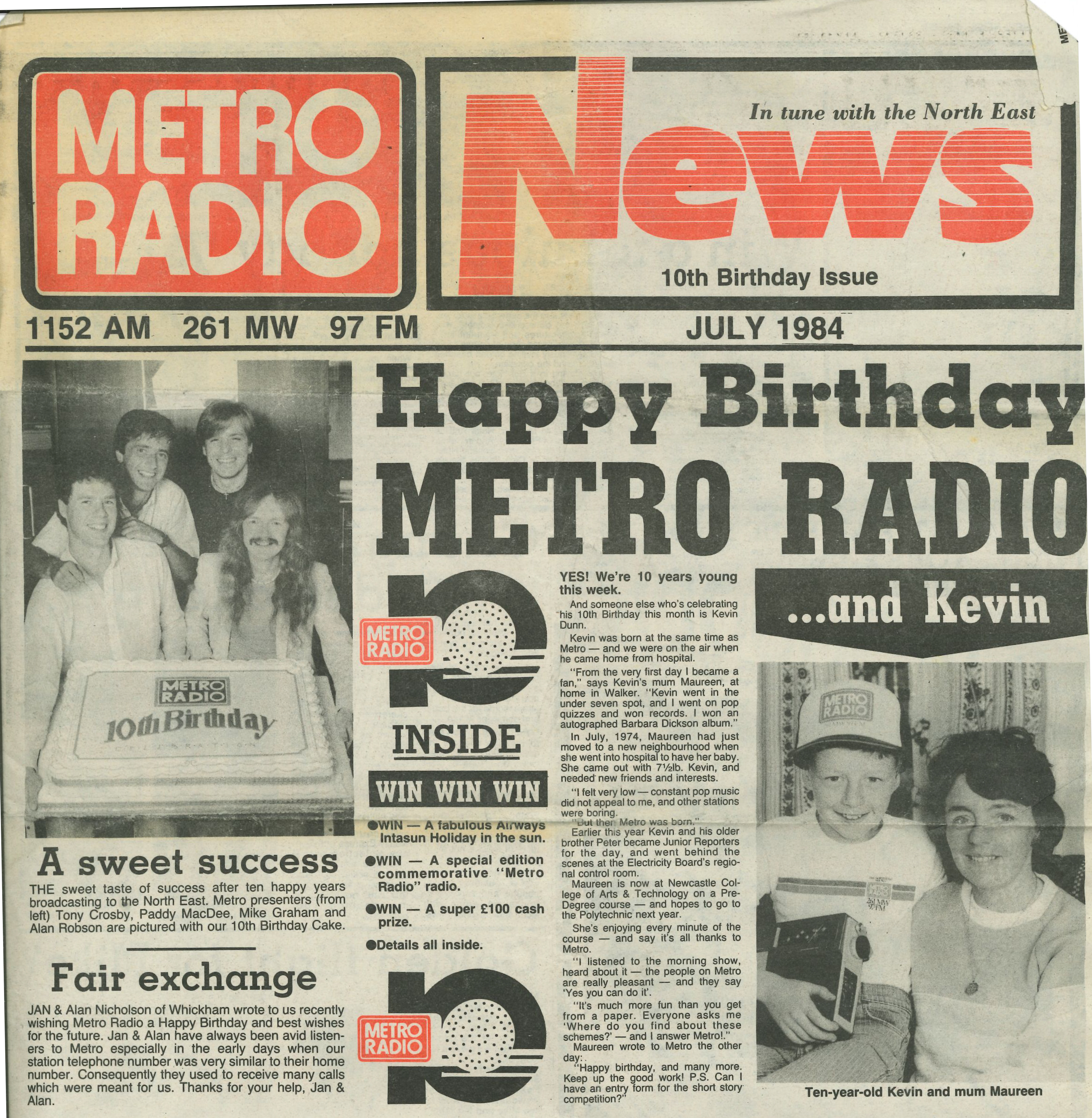 *Article* Happy Birthday Metro Radio*